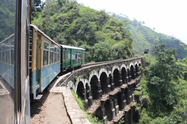Railway Train Kalka Unesco Shimla India