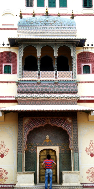City_Palace_Jaipur_-_Rose_Gate_of_Pitam_Niwas_Chowk