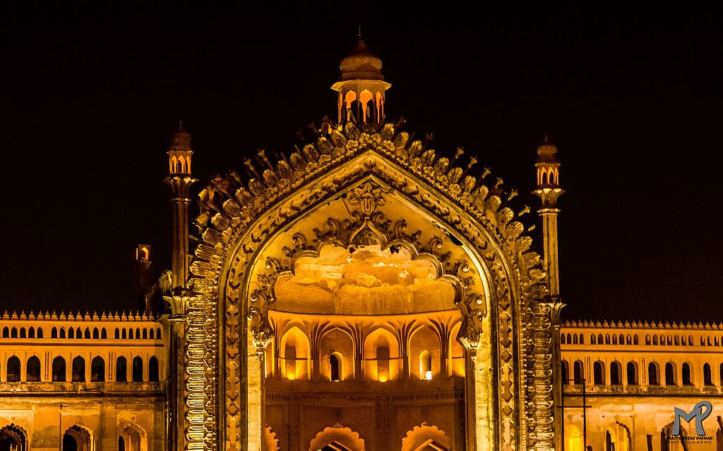 The greatest gates of india rumi darwaza the nomadic for Architecture design for home in lucknow
